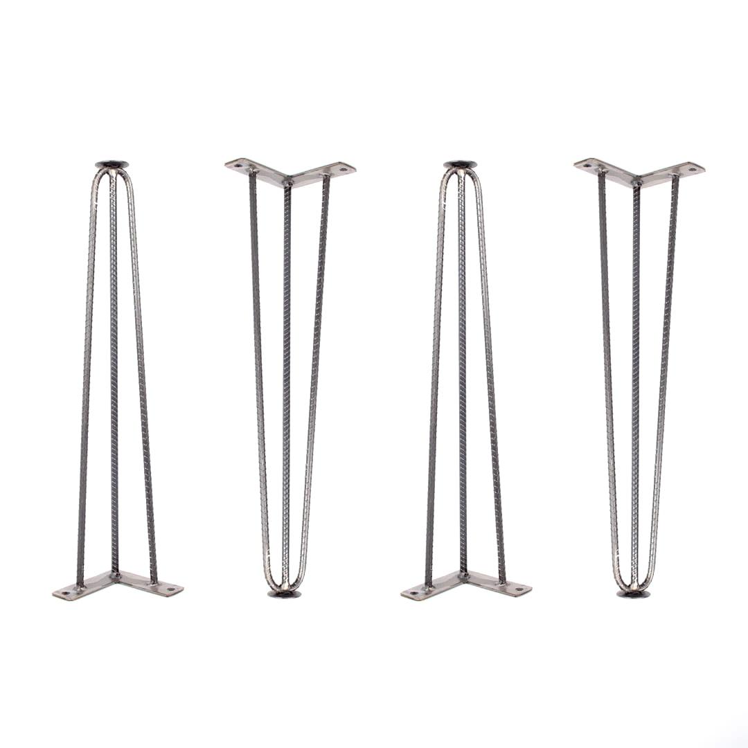 Hairpin Legs de Vergalhão para Mesa P - 45cm