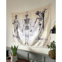 Bandeira Decorativa - Anatomia