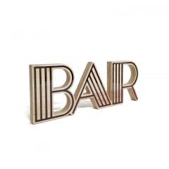 Bar - Coleção Letreiros