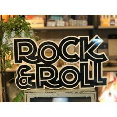 Rock&Roll - Coleção Letreiros