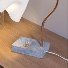 Luminária Flor Branca - Deluxe Lamp
