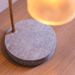 LUMINARIA GARRAFA DE SUCO - Round Lamp