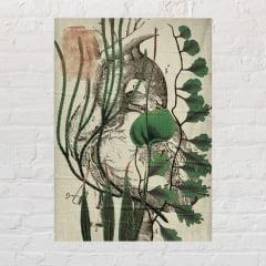 Cartaz Lambe Lambe Botânico - Coração