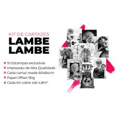 Kit de Lambe Lambe Colagem Black
